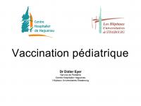 Vaccination pédiatrique