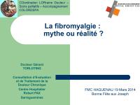 La fibromyalgie : mythe ou réalité ?