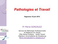 Pathologies et travail