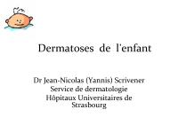 Dermatoses de l'enfant